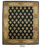 RugStudio presents ORG Handtufted Timas Black Hand-Tufted, Better Quality Area Rug
